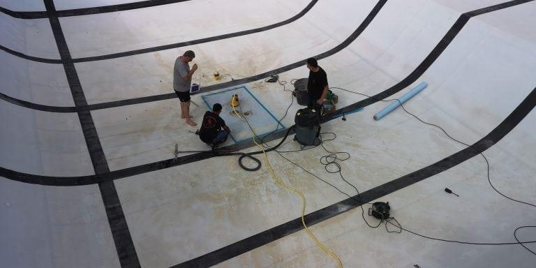 Recherche fuite piscine publique
